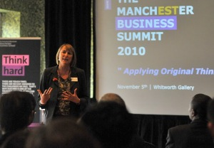 Business Summit Opening by Director, Professor Elaine Ferneley